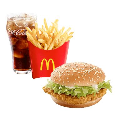 Mac Chicken Mcd mcdonald s mcchicken burger 174 meal