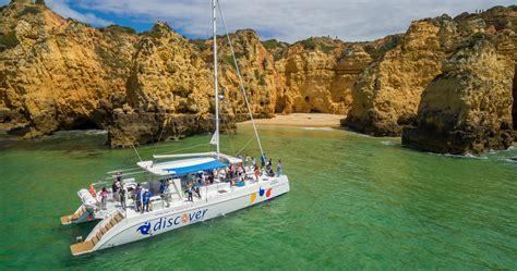 algarve experience catamaran catamaran cruise for two in the algarve tinggly