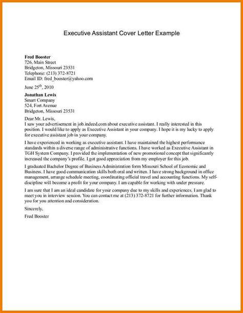 Cover Letter For Volunteer Administrative Assistant Administrative Assistant Cover Letter Sle Assistant