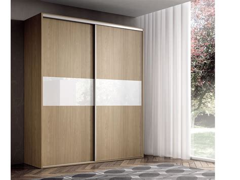 armarios de habitacion armario con frente de cristal y puerta corredera