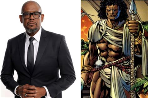 forest whitaker marvel marvel s black panther adds forest whitaker daniel