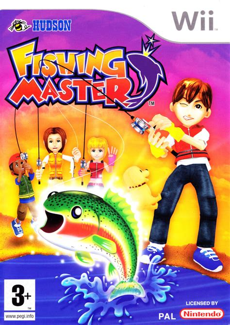 Promo Gogo Fishing fishing master 2007 wii box cover mobygames