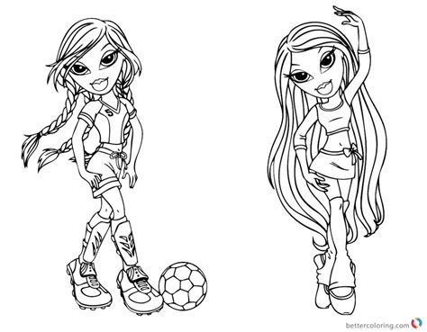 bratz coloring pages that you can print bratz coloring pages babyz doll fianna free printable