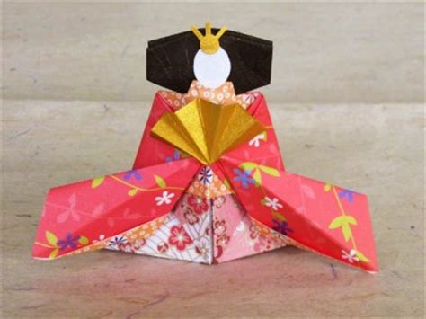 Hinamatsuri Origami - fold all kinds of things with origami a traditional