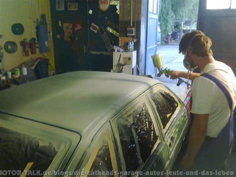 Auto Lackieren Garage by In 4 Tagen Zum H Kennzeichen Die Catheads Garage Autos