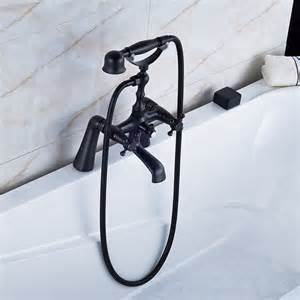 waterfall rubbed bronze led basin faucet dual handles