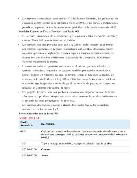 art 477 y 478 del estatuto tributario nacional et iva y retencion en la fuente