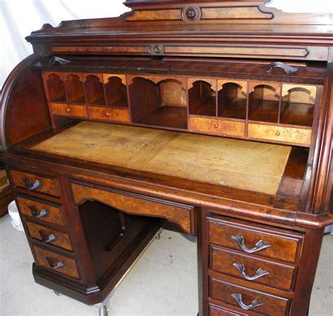 bargain johns antiques antique victorian walnut cylinder roll top desk bargain johns antiques