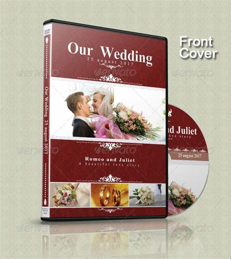 Wedding Brochure Cover by Wedding Cd Dvd Cover Free Psd Brochure Template