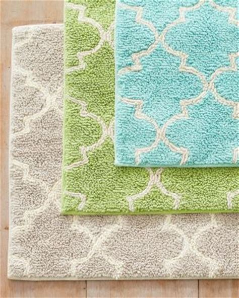 Chateau Cotton Bath Rug Garnet Hill Best Sellers Pretty Bathroom Rugs