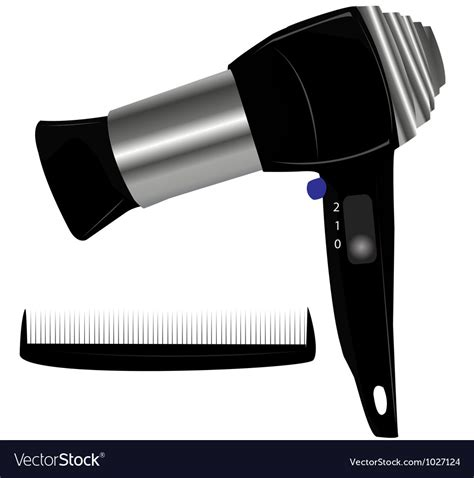 Hair Dryer Vector Free hair dryer royalty free vector image vectorstock