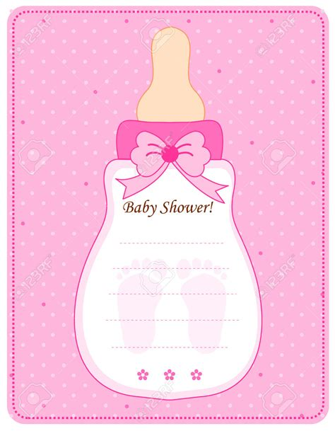 baby bottle invitation card printable premium invitation