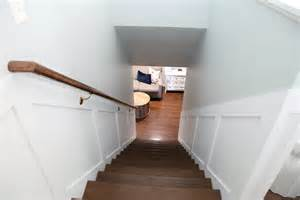 stairway handrail installation iheart organizing do it yourself stairway handrail