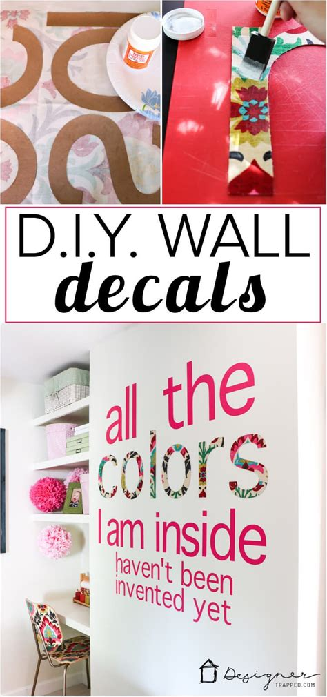 wall quotes tutorial diy custom wall decals that will make you swoon