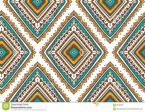 hippie tribal pattern vector seamless pattern with ethnic tribal ornamental