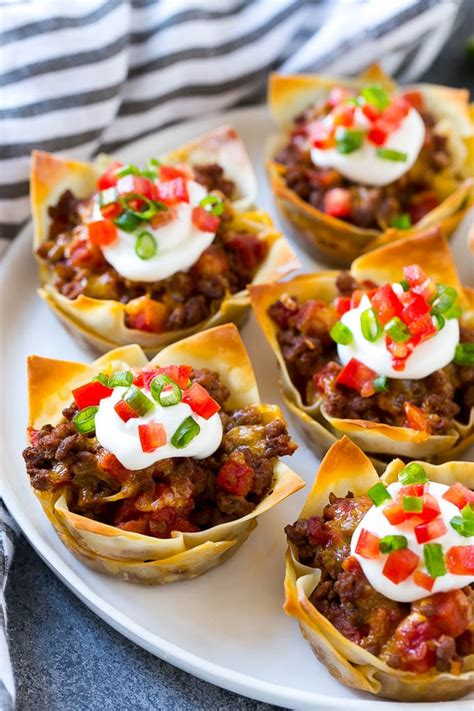 taco cups  beef  cheese dinner   zoo