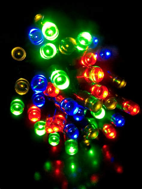 80 multi colour super bright led string light 8m