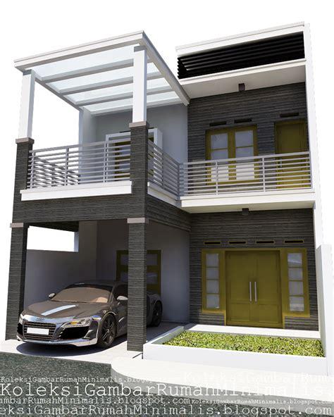 contoh gambar rumah minimalis 2 lantai desain rumah minimalis