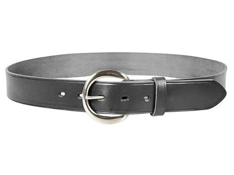 bianchi b5 dress belt 1 1 2 nickel plated brass buckle