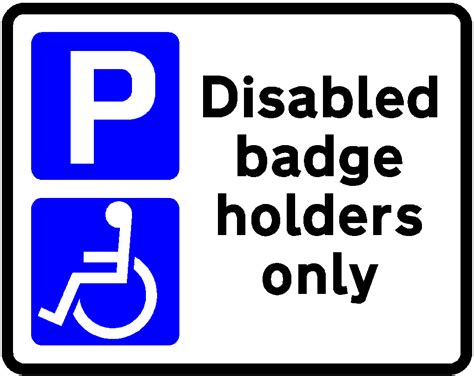 disabled parking template printable handicap parking signs cliparts co
