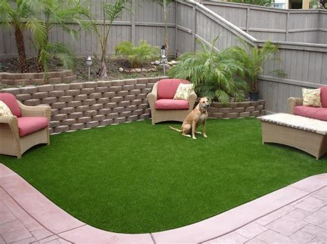 artificial turf backyard 7 ways to make your backyard a doggie paradise