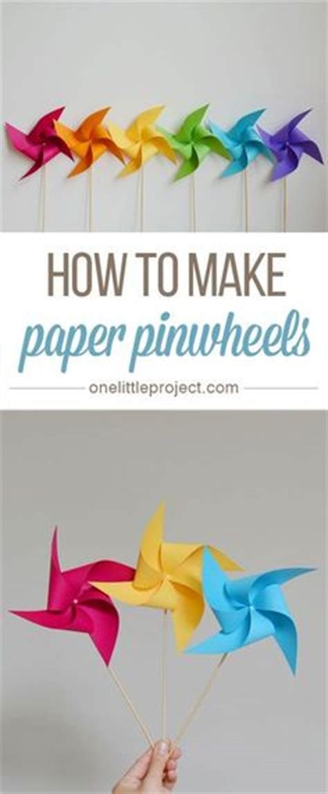How To Make Paper Pinwheels That Spin - 1000 ideas about pinwheel craft on pentecost