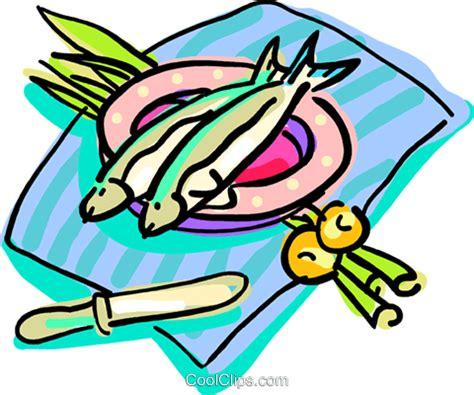 clipart cena cena di pesce immagini grafiche vettoriali clipart