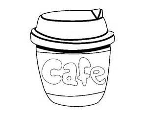 dibujo de vaso de caf 233 para colorear dibujos net