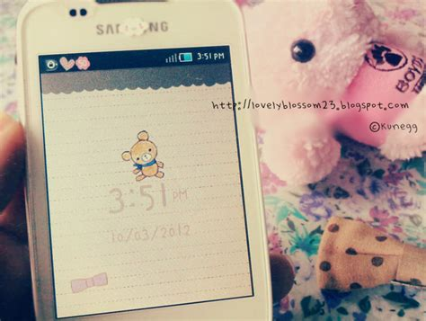 Cute Themes For Samsung Galaxy V | lovely like blossom cute gt