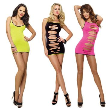 Colorful Sexy Bar Pole Dancing Dress, OEM Orders are