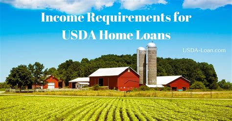 Income Requirements For Usda Home Loans Usda Loan
