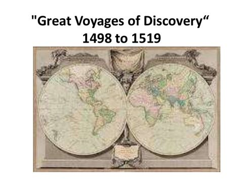 spiritual vocations a voyage of discovery taken from nature and character of god books great voyages of discovery