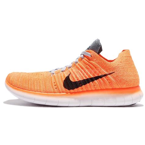 Nike Running Import wmns nike free rn flyknit mesh womens running shoes run orange 831070 800