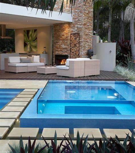 Moderne Gartengestaltung Mit Pool by Whirlpool Im Garten 100 Fantastische Modelle Archzine Net