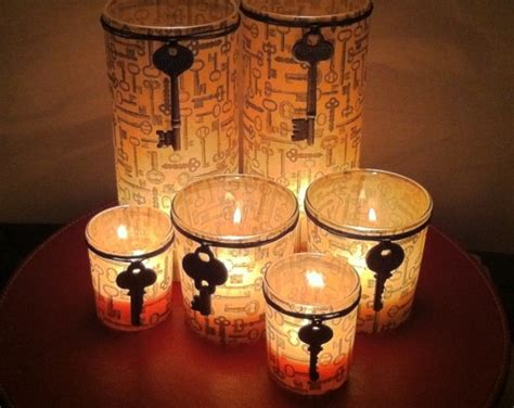 Candle Stand Decorations Candle Holder 10 Stunning Diy Skeleton Key Home Decor