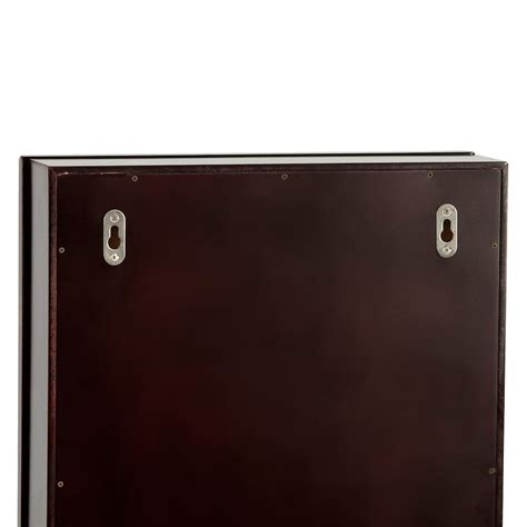 mirror jewelry armoire kohls black jewelry armoire furnitures ideas wonderful standing