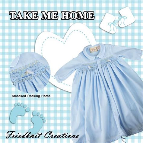 32 best take me home baby images on smocking