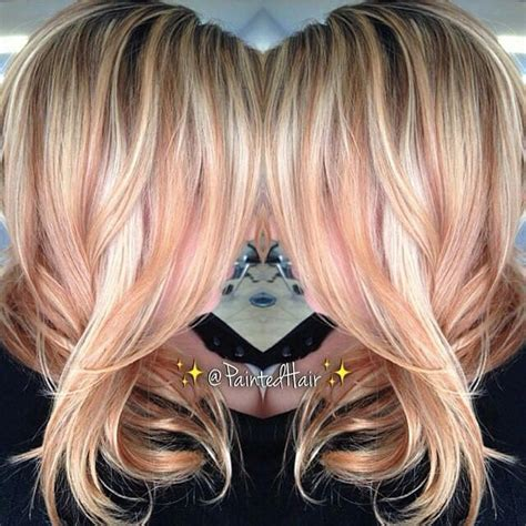 rose gold lowlights on dark hair 1000 ideas about rose blonde hair on pinterest rose