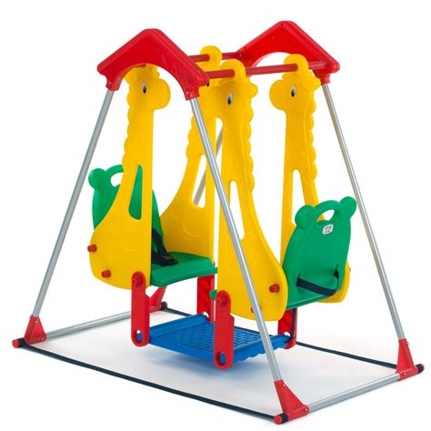 outdoor child swing kids swing playground children play area outdoor garden
