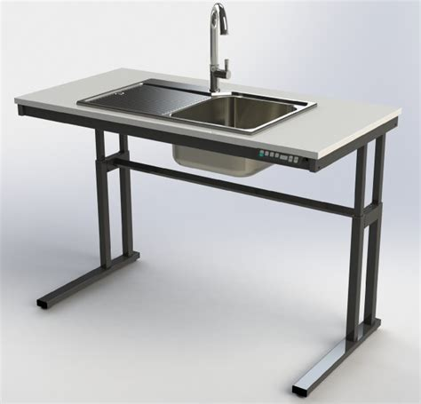 Electric Sink by Electric Height Adjustable Sink Frames Wheelchair Inclusive