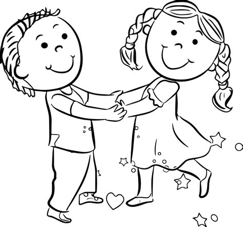 child color kids playing coloring pages coloring page for kids