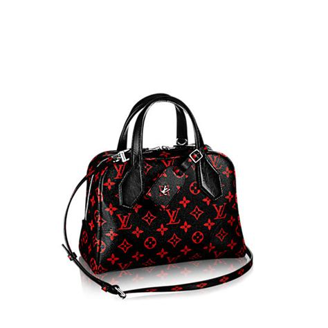 Luxury Home Interior by Louis Vuitton Launches Red And Black Monogram Infrarouge