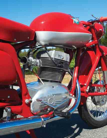 mv agusta disco volante the flying saucer 1954 mv agusta 175 css disco volante