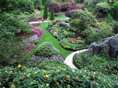 The Sunken Gardens by The Sunken Garden Photograph By George Cousins