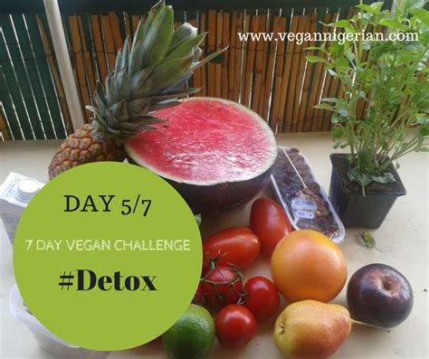 5 Day Vegan Detox by The Vegan Day 5 7 Vegan Challenge Detox