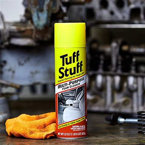 tuff stuff upholstery cleaner tuff stuff multi purpose foam cleaner for deep cleaning