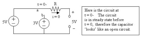 capacitor open circuit dc capacitor dc open circuit