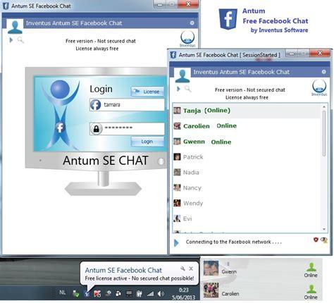 trasforma facebook in windows 7 free antum facebook chat full windows 7 screenshot