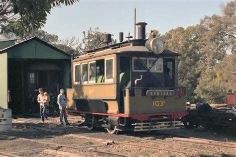 hunde wagen parramatta steam tram