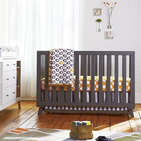 land of nod crib bedding baby crib bedding baby grey yellow patterned crib